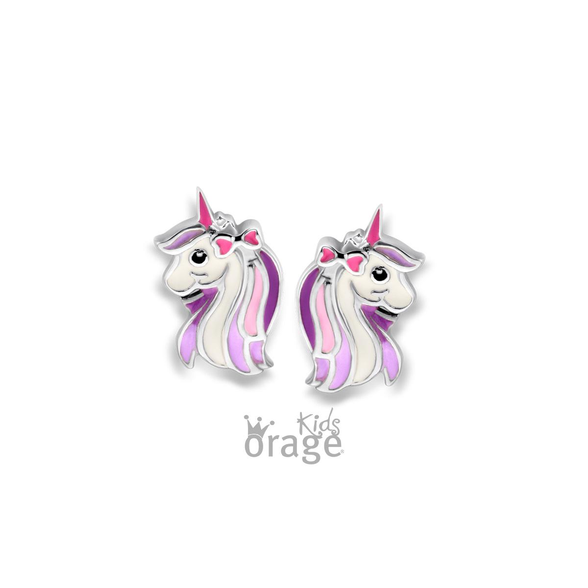 Orage kids Orage oorbellen eenhoorn