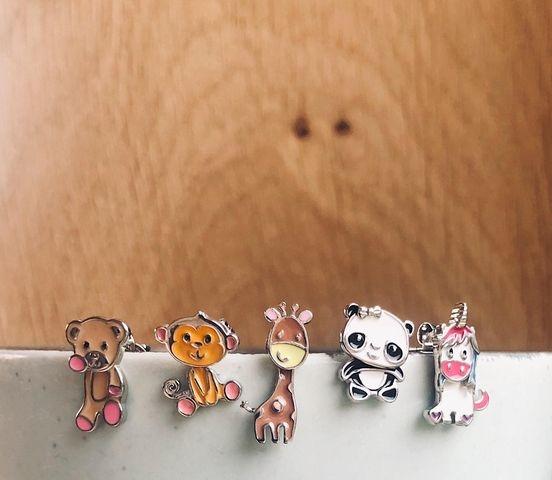 Orage kids Oorringen panda 925 rh