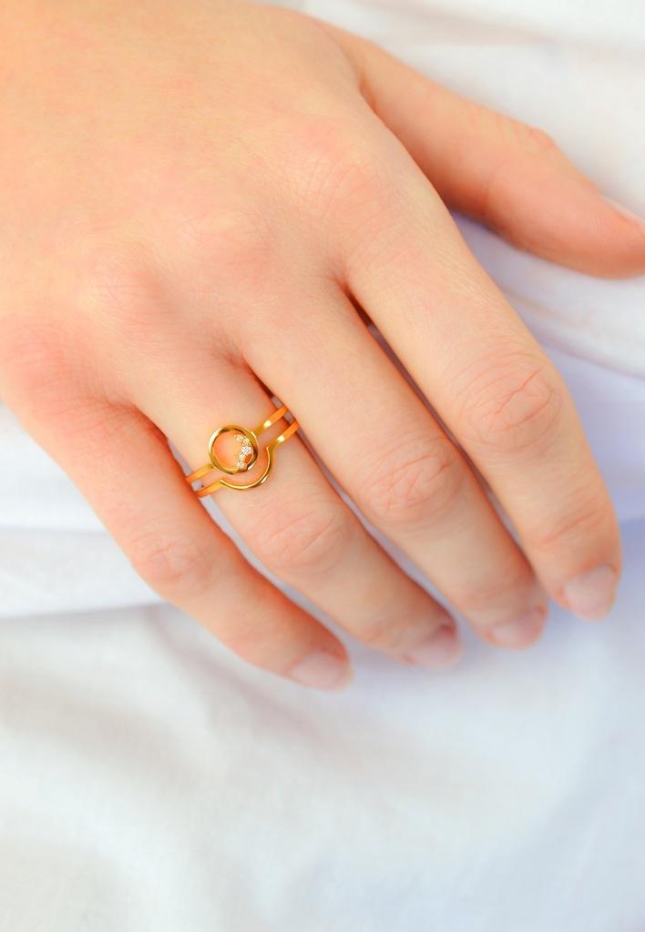 Diamanti per tutti Diamanti per tutti Circle Unity Ring