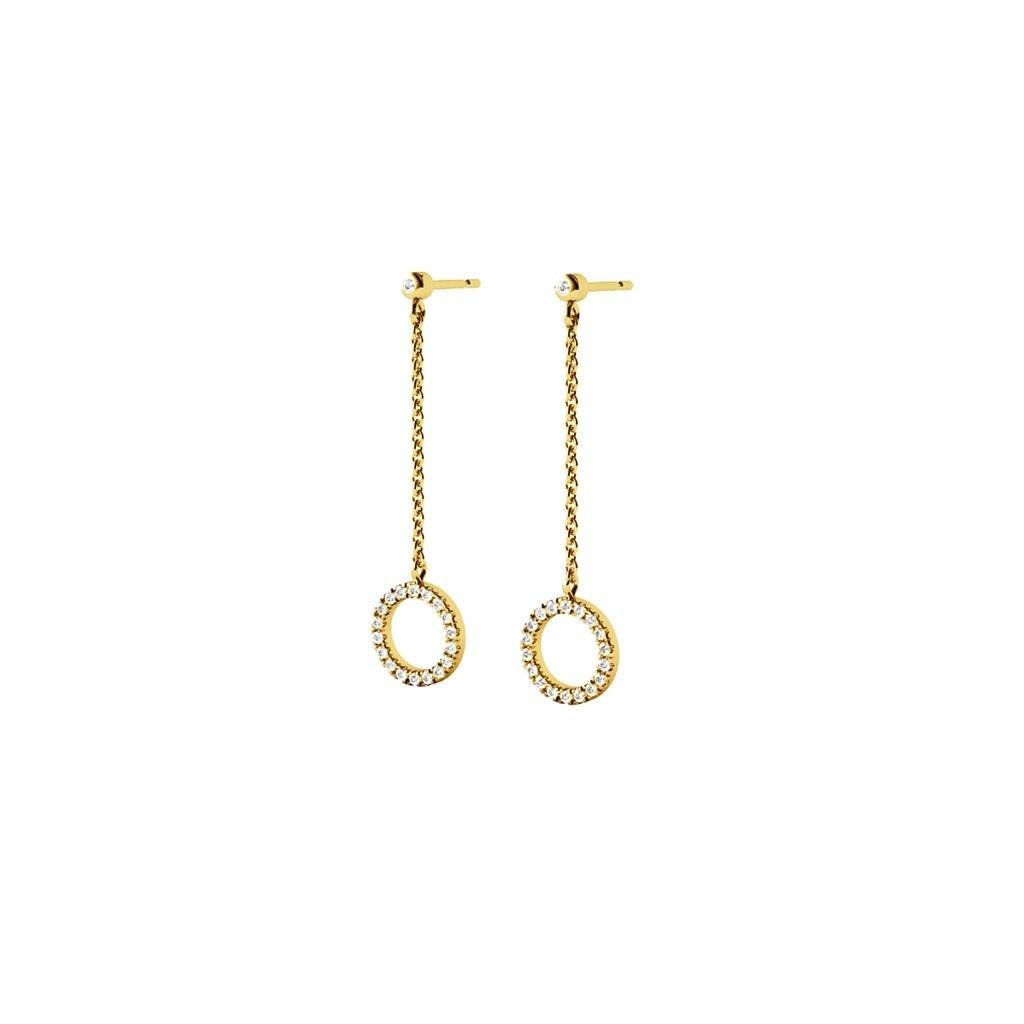 Diamanti per tutti Diamanti per tutti Circle of Life Earring (on chain)