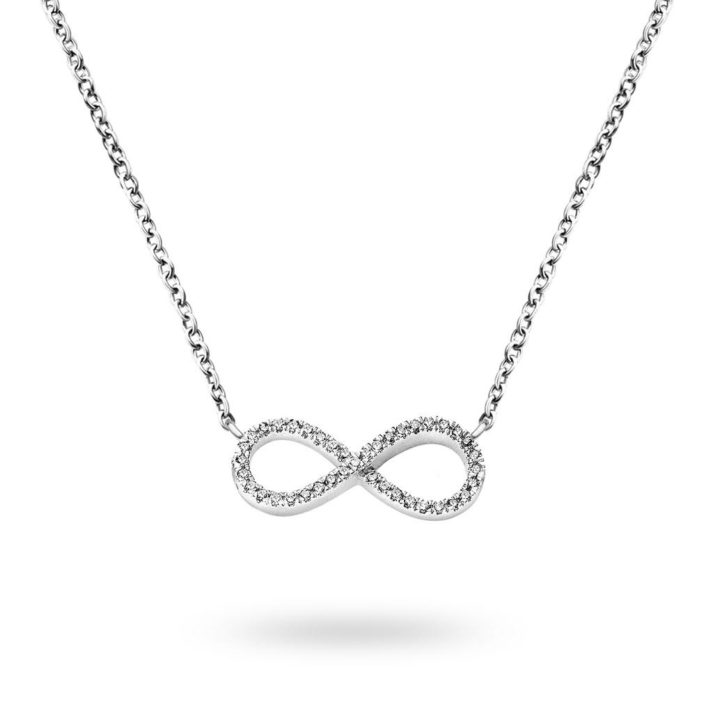 Diamanti per tutti Big Infinity Necklace