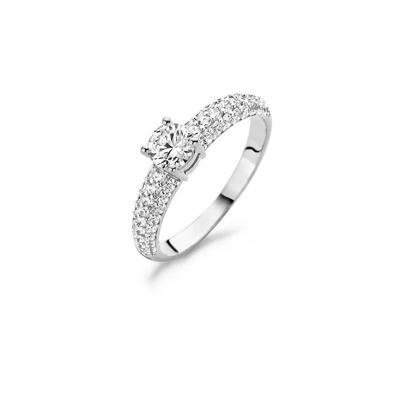Blush Ring 1135WZI - 14k Witgoud met Zirkonia