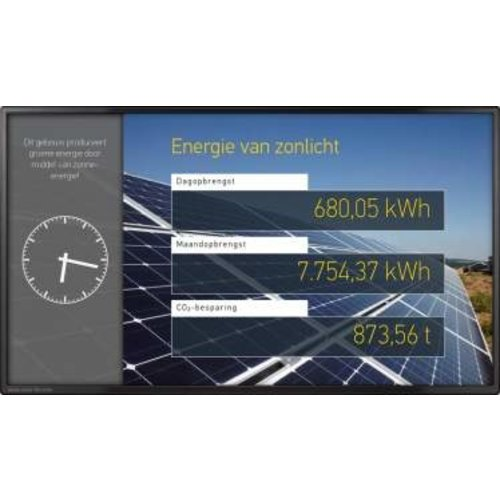SolarFox Solarfox Display-System SF-100 24""