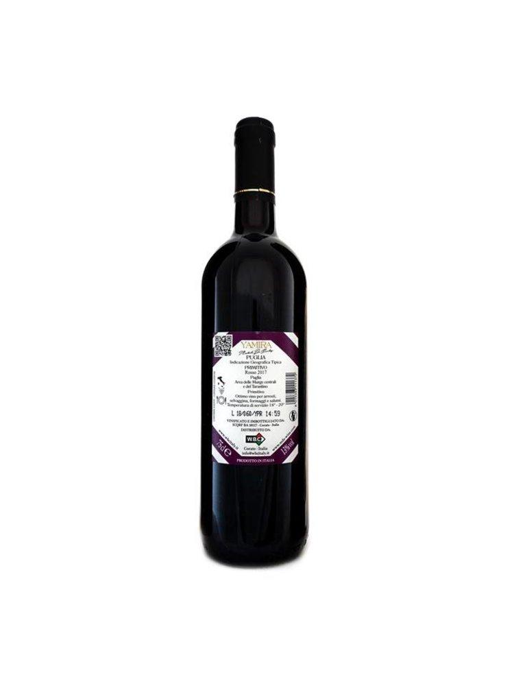 "M. De Santis Luxury Wines ""Yamira"" Primitivo"