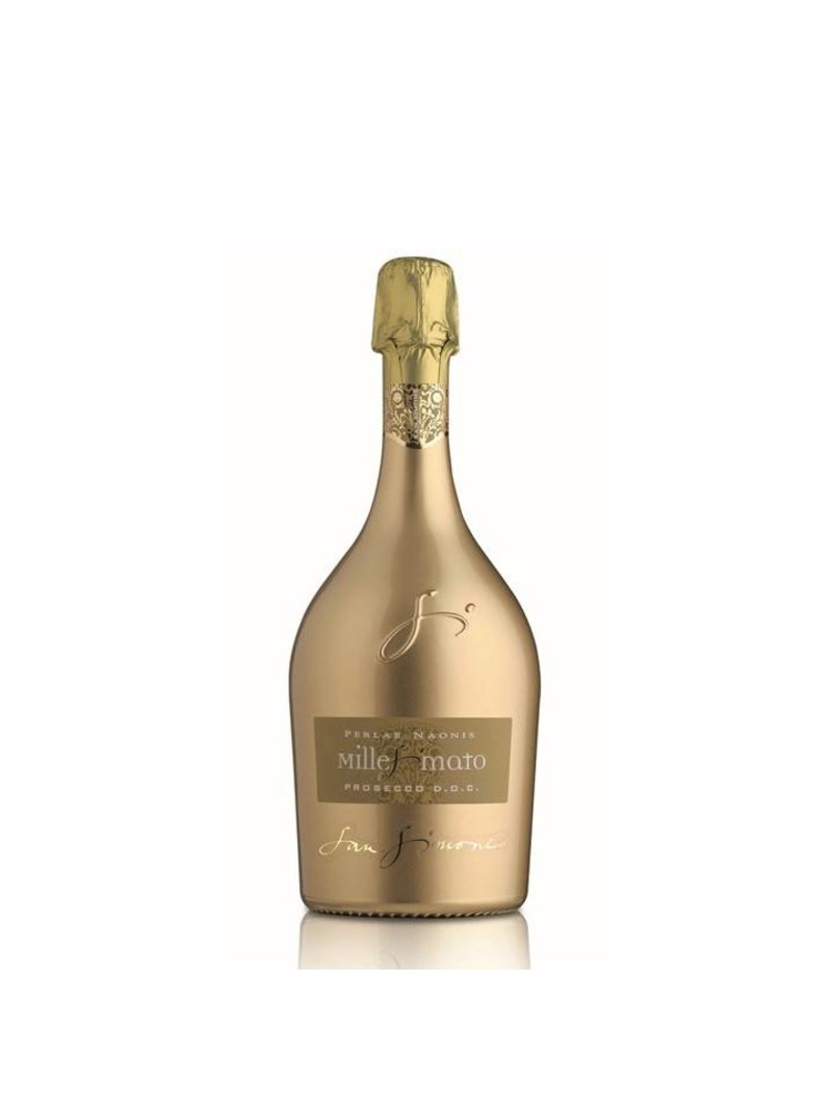 San Simone Perlae Naonis Prosecco Millesimato DOC Brut Limited Edition Goud