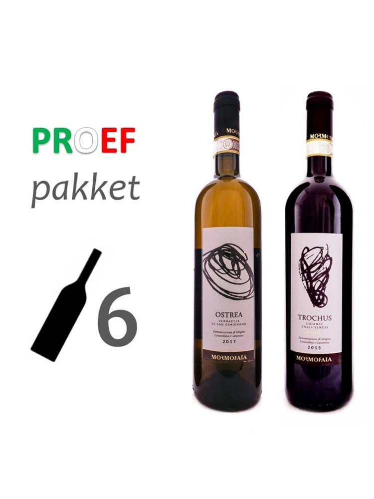 Proefpakket Biologische wijn uit Toscane
