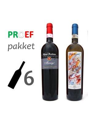 Proefpakket Marco Bonfante - Top uit Piëmonte