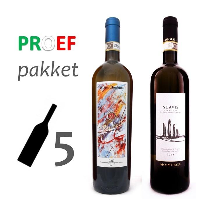 Proefpakket 'Bianco' - witte wijn