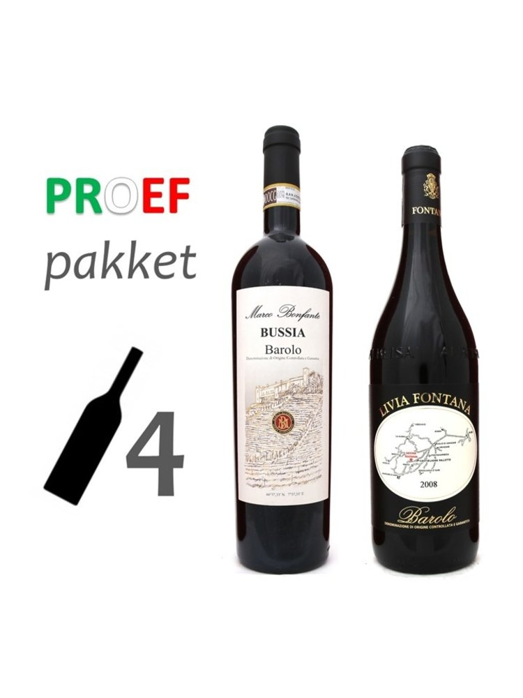 Proefpakket Barolo Mista