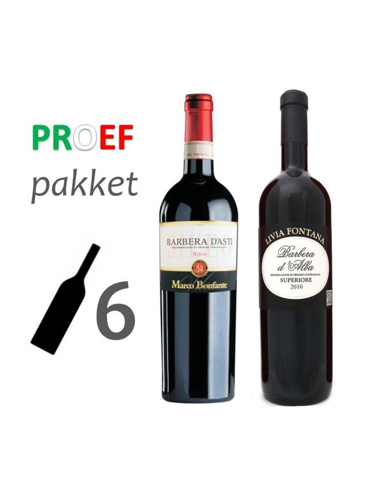 Proefpakket 'Amore' Barbera