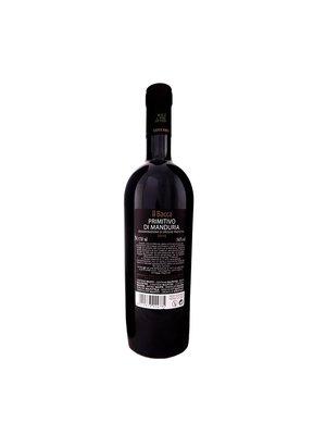 Luccarelli Vini Primitivo di Manduria DOP 2016 - Il Bacca