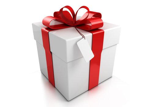 Geschenkverpakking