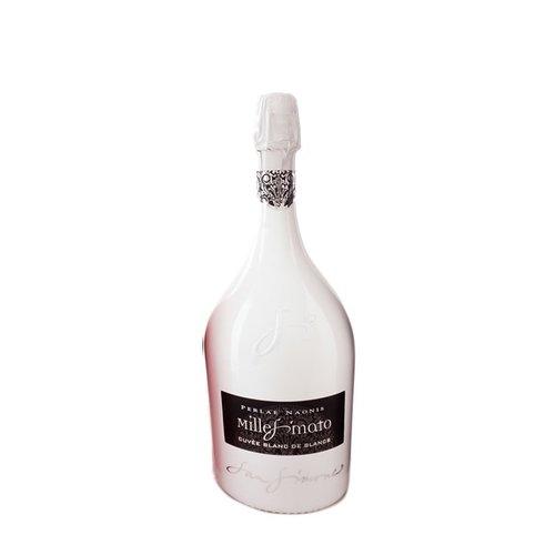 San Simone Perlae Naonis Cuvee Blanc de Blancs Extra  Brut Limited Edition  Wit