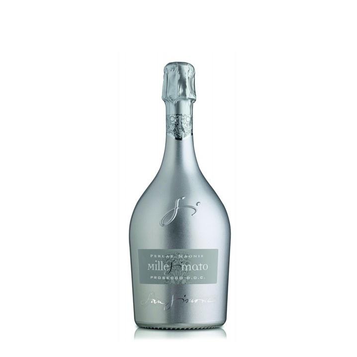 San Simone Perlae Naonis Prosecco Millesimato DOC Brut Limited Edition Zilver