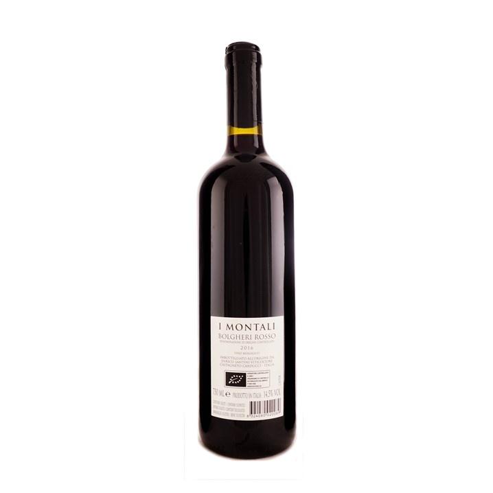 """Enrico Santini """"I Montali"""" Bolgheri Rosso DOC 2016"""