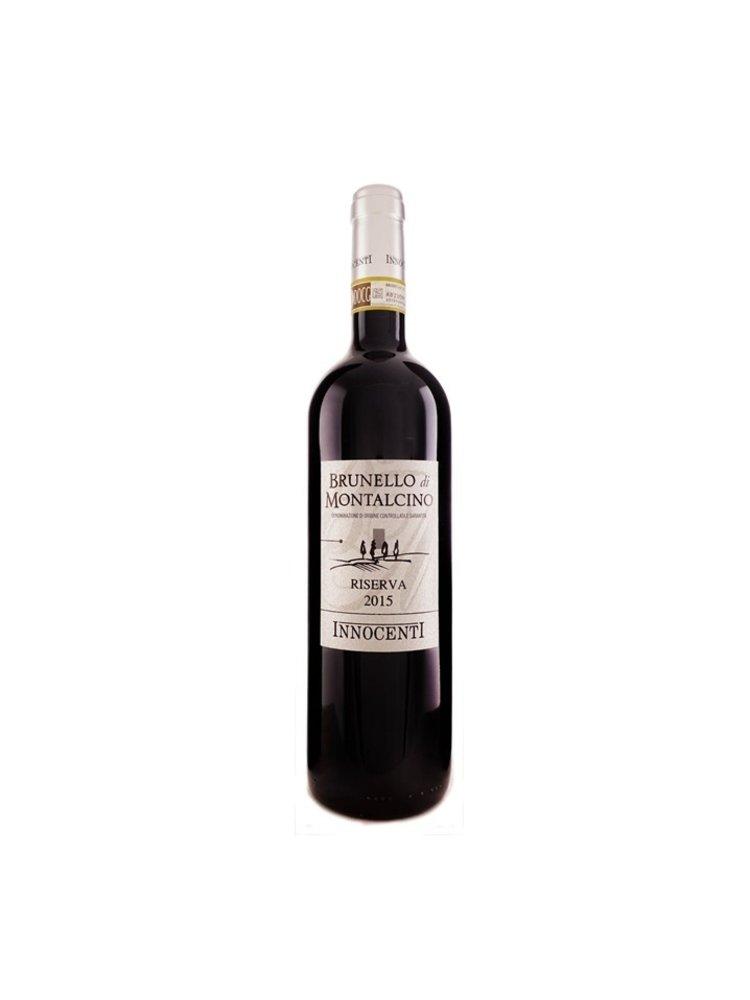 Innocenti Brunello di Montalcino 2015 Riserva DOCG  in luxe giftbox