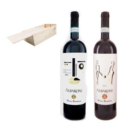 Marco Bonfante Albarone Duo in houten geschenkdoos