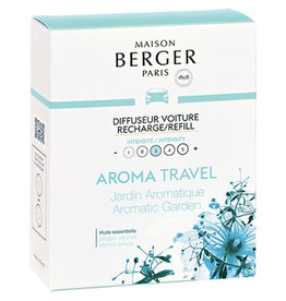 MAISON BERGER MAISON BERGER 6412 AUTO DIFFUSER  2X NAVULLING AROMA TRAVEL