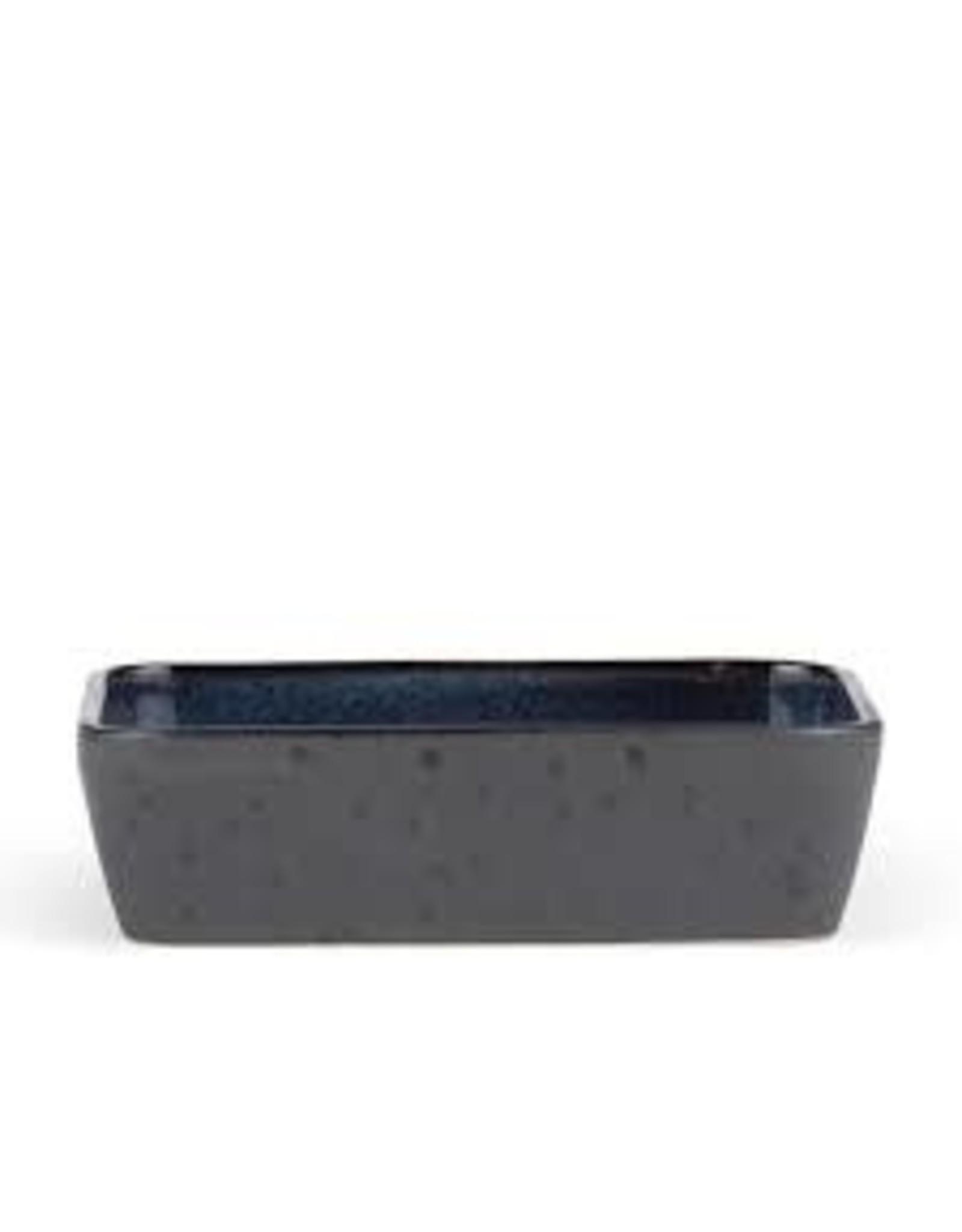 BITZ BITZ 821454 OVENSCHAAL  30X21X7.5CM BLACK/DARK BLUE