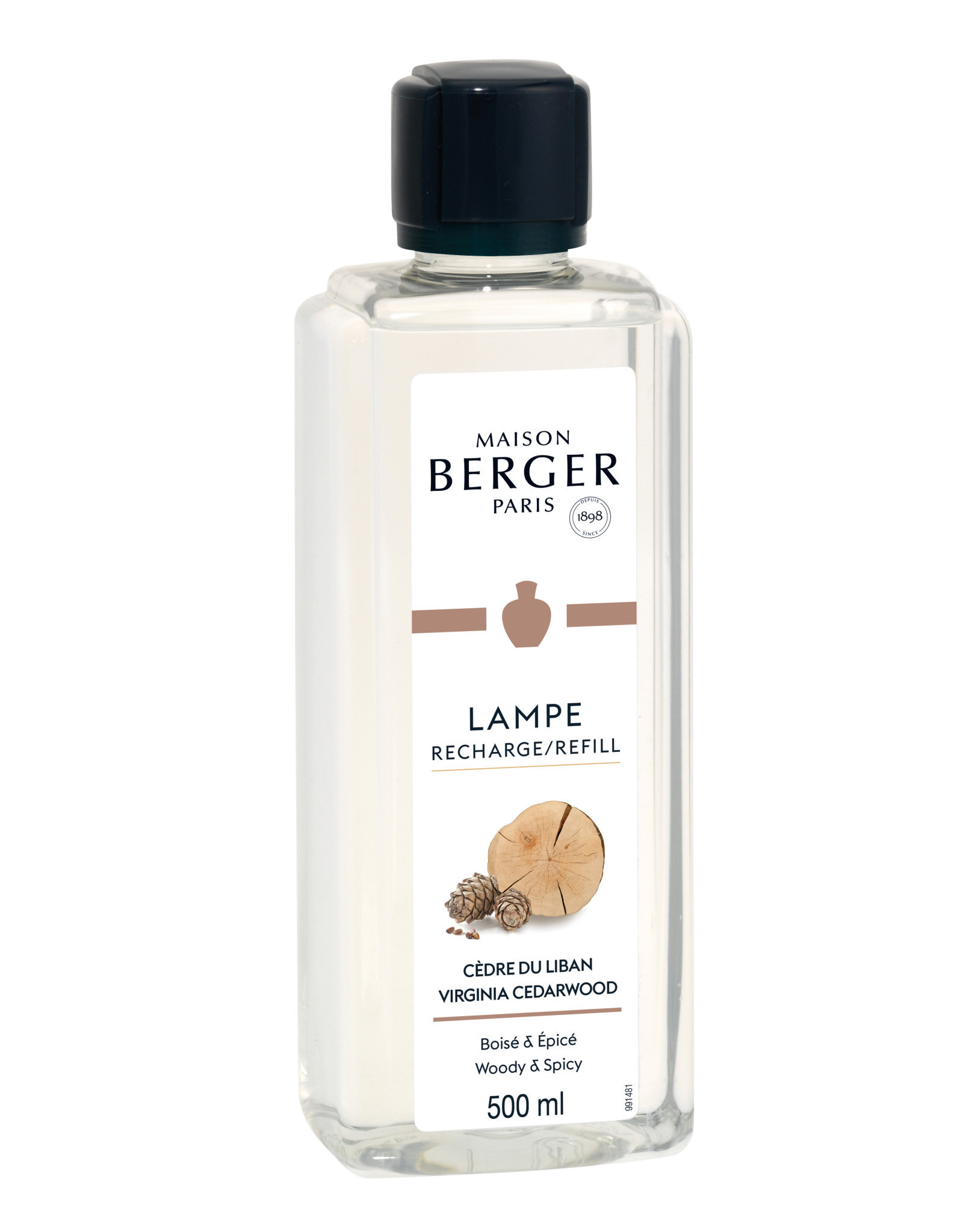 MAISON BERGER MAISON BERGER 500ML 115021 CEDERWOOD