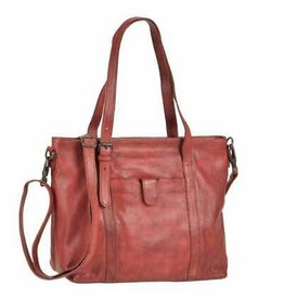 BEAR DESIGN LEDERWAREN BEAR DESIGN CL36739 TAS ROOD