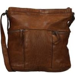 BEAR DESIGN LEDERWAREN BEAR DESIGN CL35556 DAMES TAS COGNAC