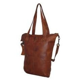 BEAR DESIGN LEDERWAREN BEAR DESIGN CP2087 DAMES TAS COGNAC