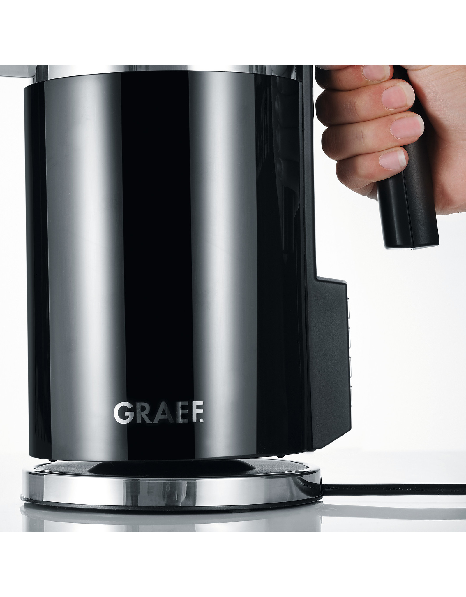 GRAEF GRAEF 45702 WATERKOKER 1,5 LTR. WK702 ZWART  VARIABEL