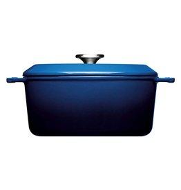 WOLL WOLL 124CI-020 IRON CASSEROLES 4.2 LTR ROND 24X11CM COBALT BLUE