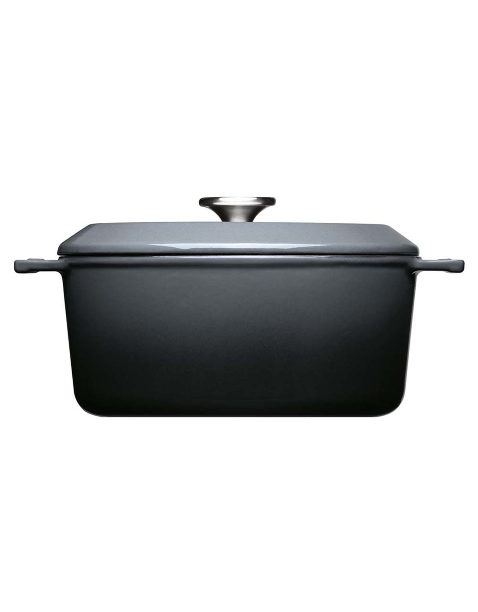 WOLL WOLL 124CI-030 IRON CASSEROLES 4.2 LTR  ROND  24X11CM CARBON GREY