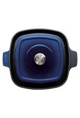 WOLL PANWOLL 628-2CI-020 IRON GRILL PAN 28X28X4.5CM COBALT BLUENEN WOLL 628-2CI-020 IRON GRILL PAN 28X28X4.5CM COBALT BLUE
