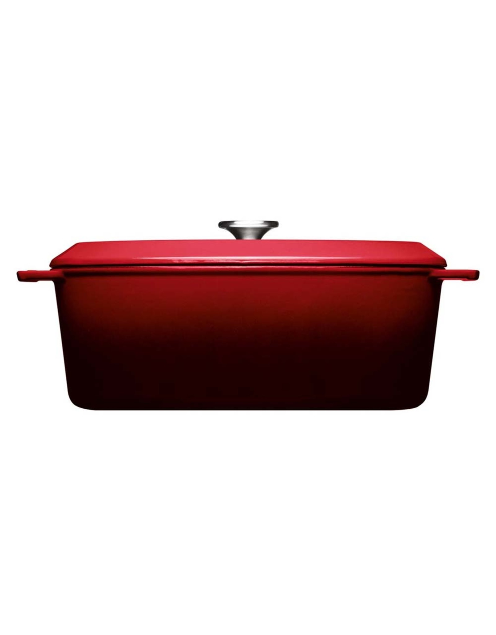 WOLL WOLL 3426CI-010 IRON COVERED OVAAL 7.5LTR 34X26X12.5CM CHILI RED