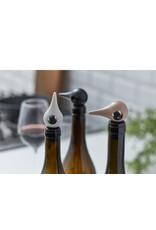 ZONE ZONE 11856 BIRD WINE STOPPER WARM GREY
