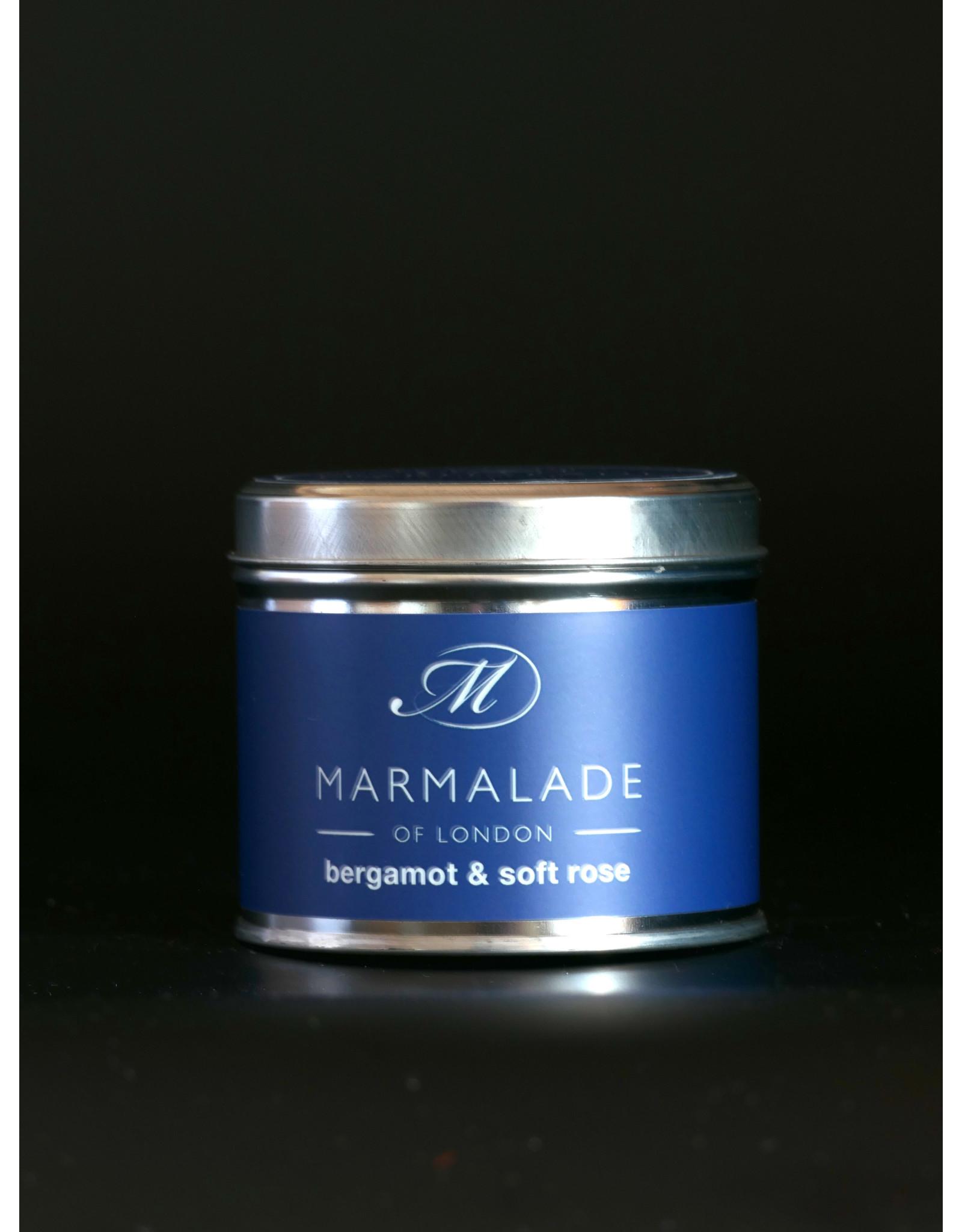 MARMALADE MARMALADE  SOY WAX CANDLE BERGAMOT & SOFT ROSE