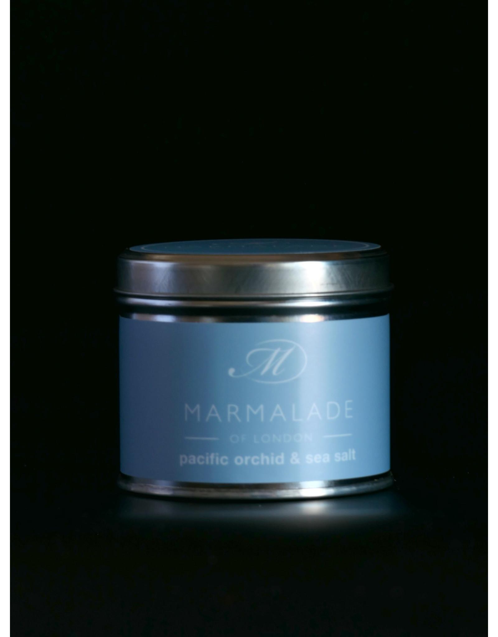MARMALADE MARMALADE SOY WAX CANDLE PACIFIC ORCHID & SEA SALT