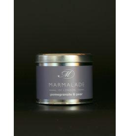 MARMALADE MARMALADE SOY WAX CANDLE POMEGRANATE & PEAR