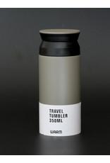 TRAVEL TUMBLER GRIJS 350ML