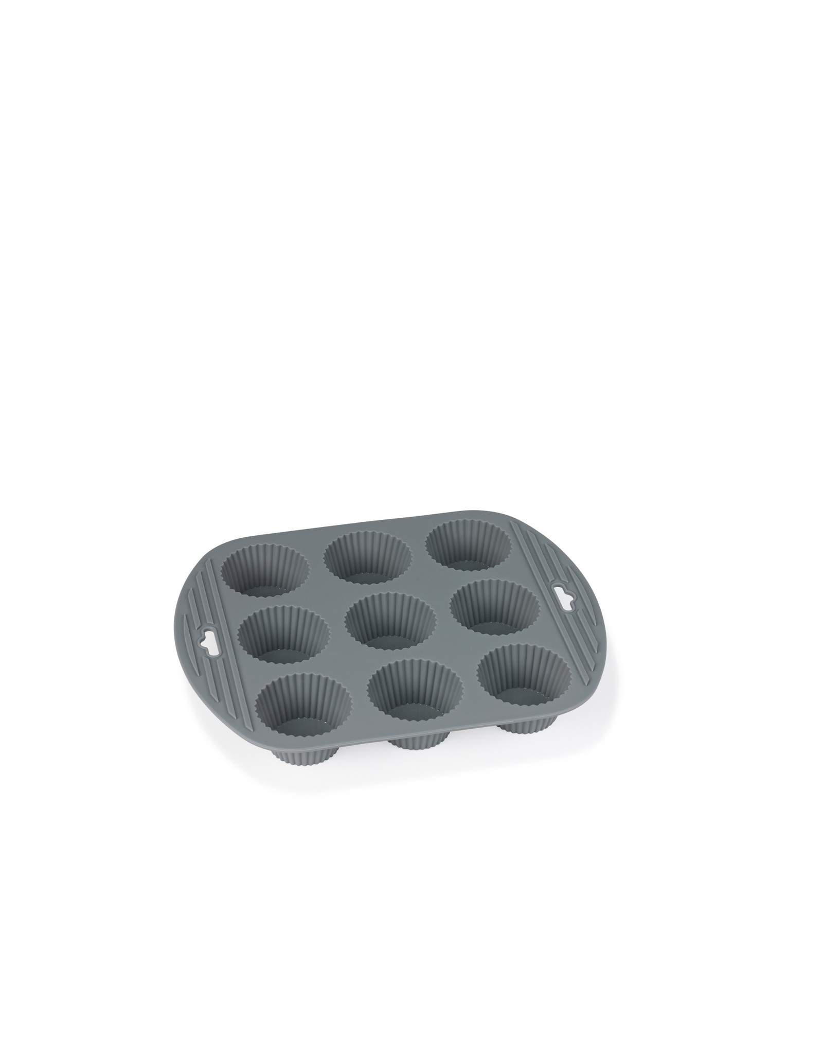 FUNKTION FUNKTION 225025 SILICONEN MUFFIN MOULD 9 HOLES GREY