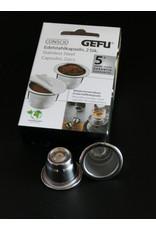 GEFU GEFU 12722 KOFFIE CAPSULES STICK-ON 80 STUKS