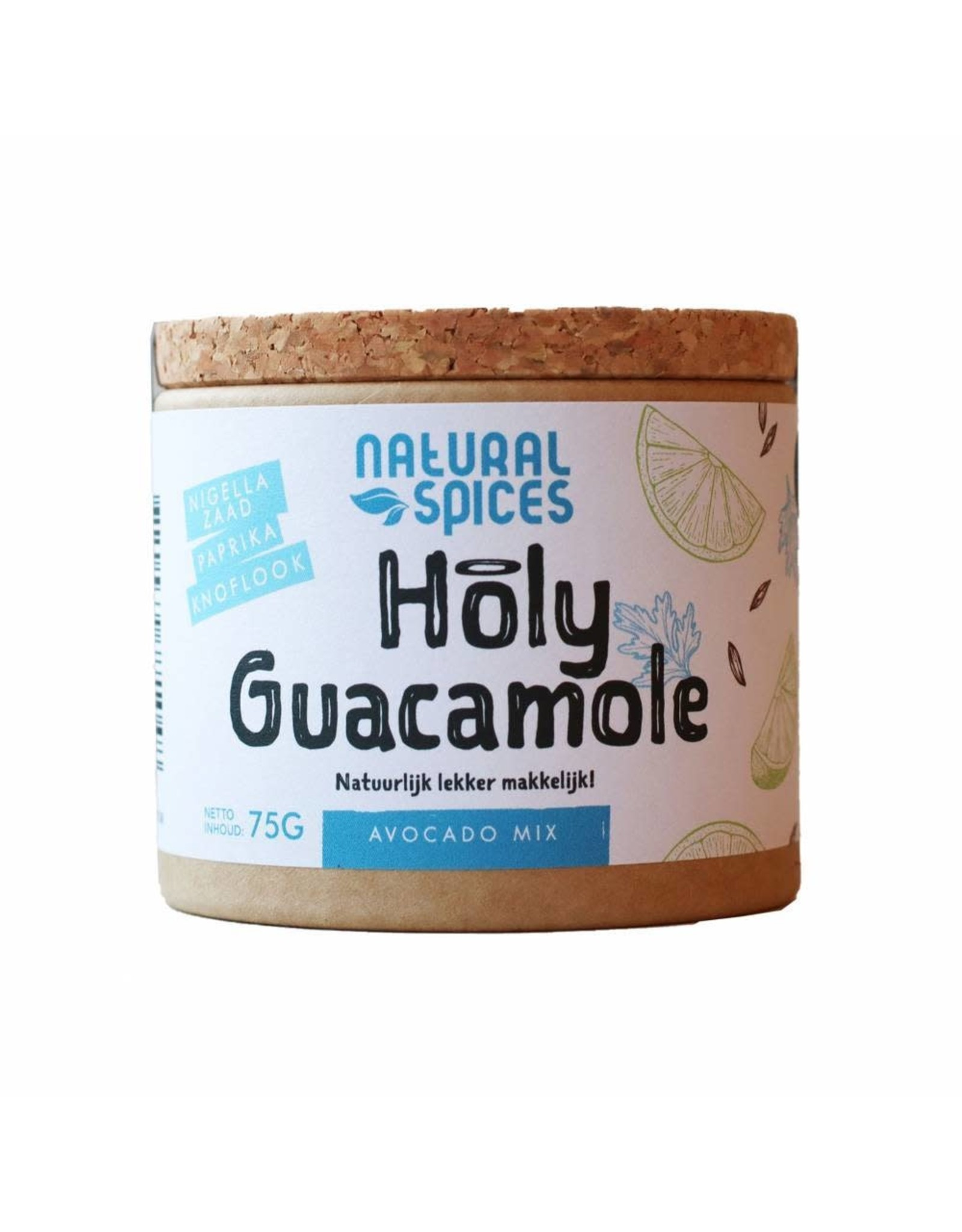 NATURAL SPICES NATURAL SPICES 2001 75GRAM HOLY GUACAMOLE