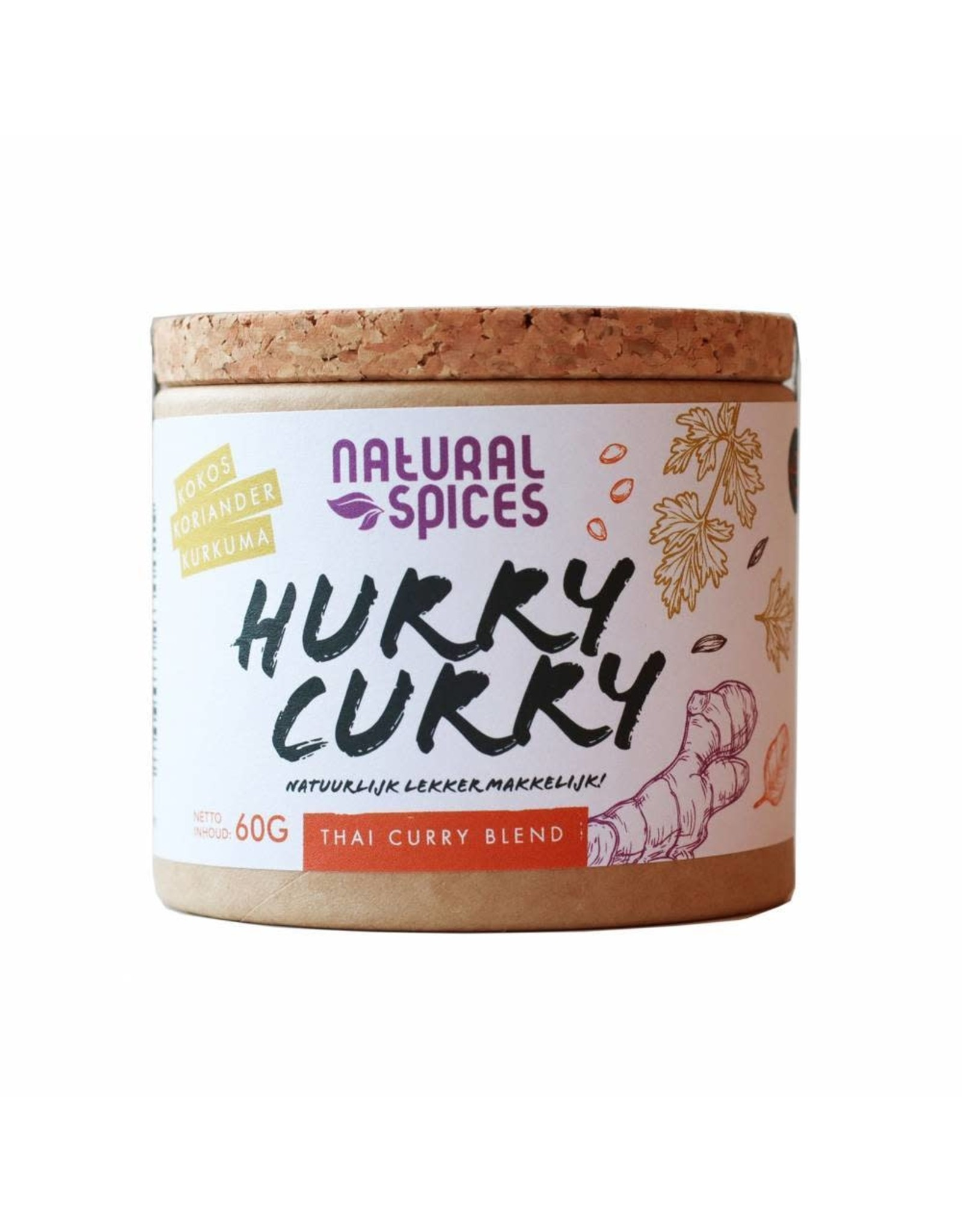 NATURAL SPICES NATURAL SPICES 2003 60GRAM HURRY CURRY