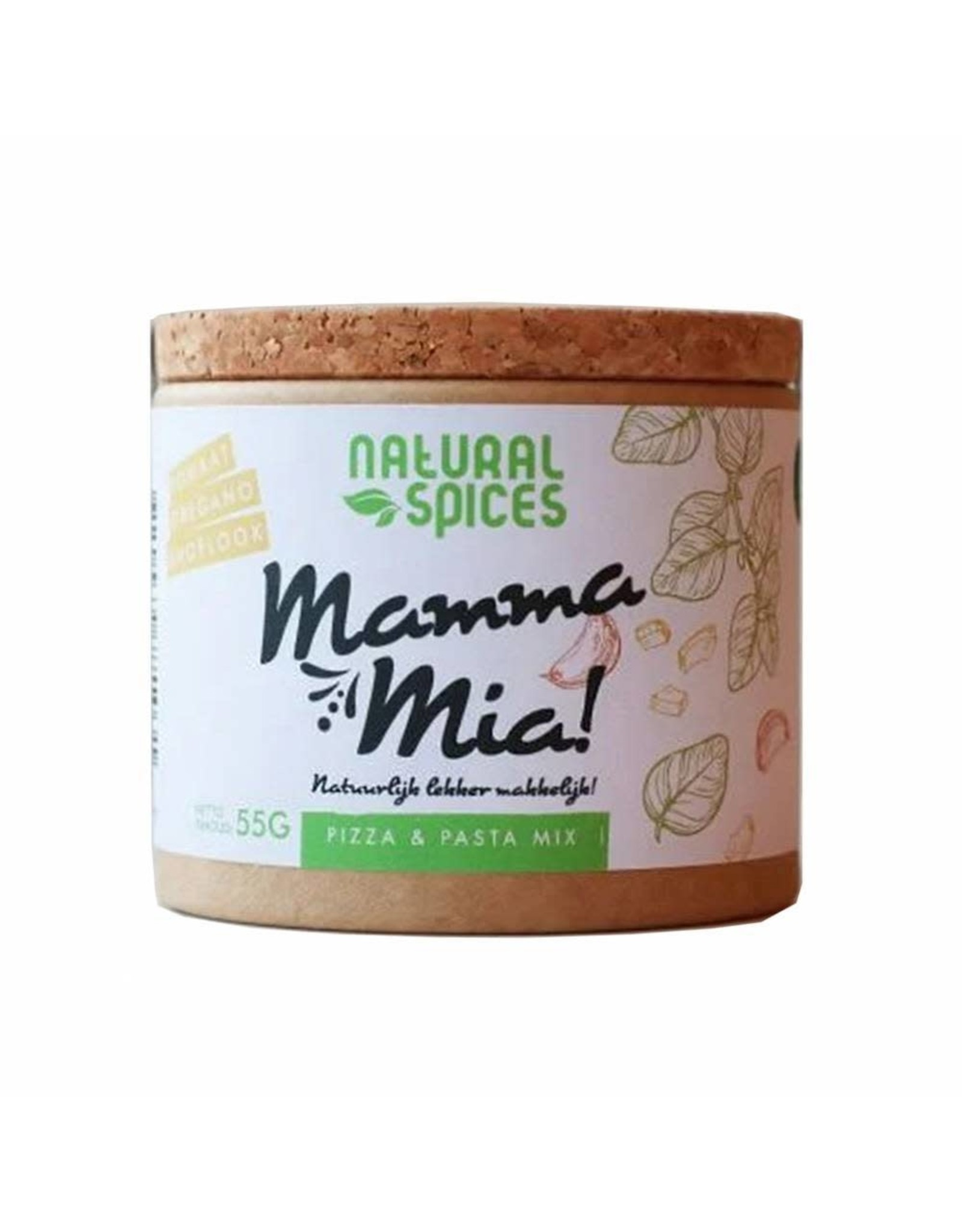NATURAL SPICES NATURAL SPICES 2004 55GRAM MAMA MIA