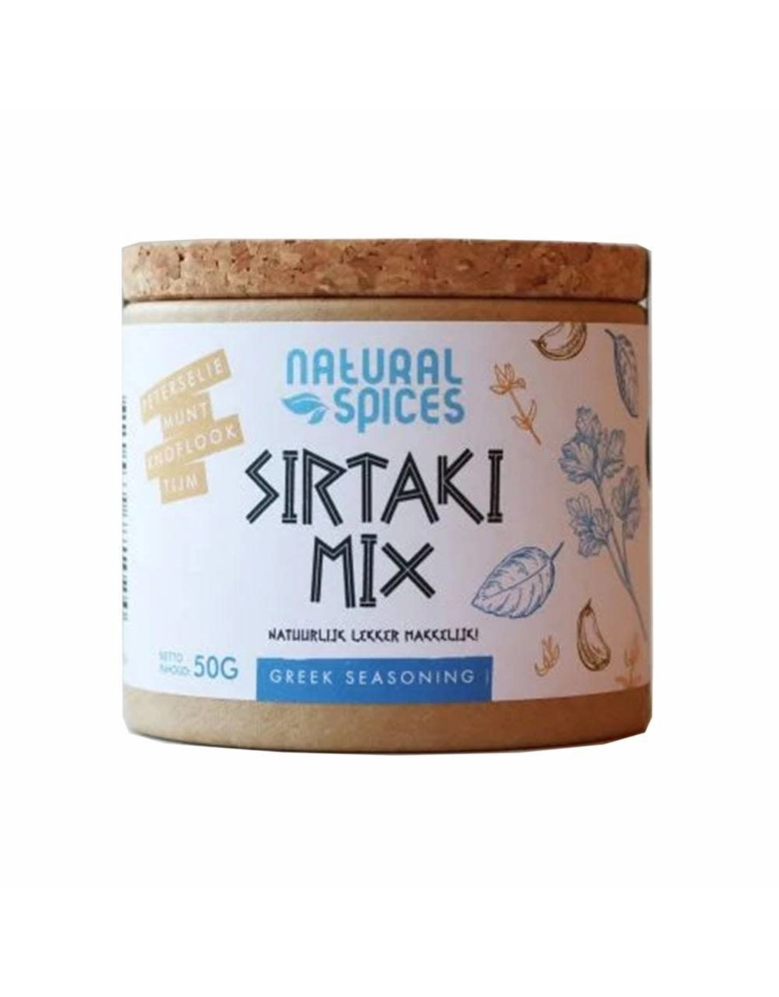 NATURAL SPICES DELICATESSE NATURAL SPICES 2007 50GRAM SIRTAKI MIX