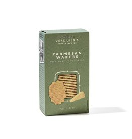 VERDUIJN'S FINE BISCUITS VERDUIJN'S FINE BISCUITS 6754 75GRAM PARMEZAANWAFELS TRADITIONALLY BAKED