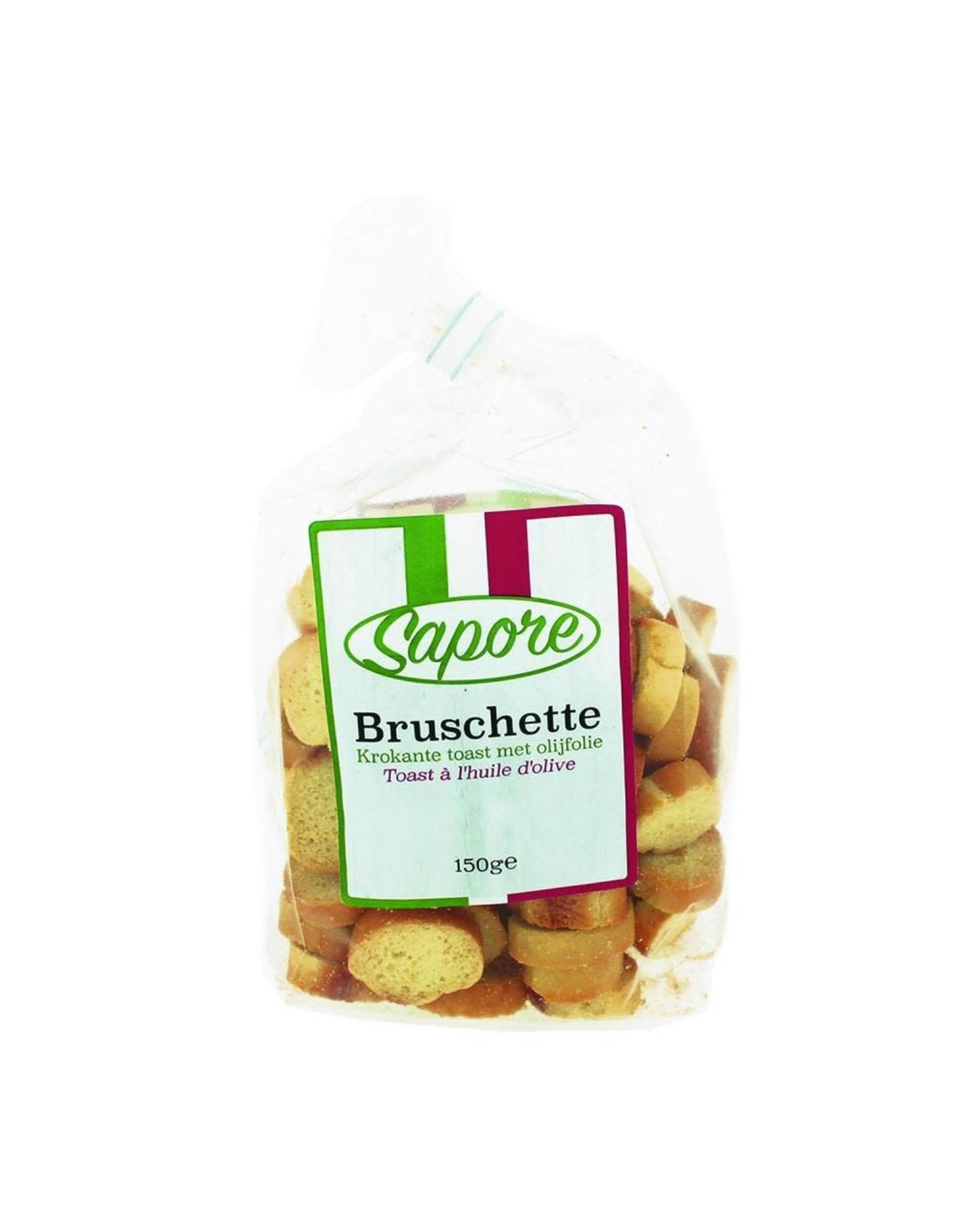 SAPORE SAPORE 2350 150GRAM BRUCHETTE OLIJFOLIE