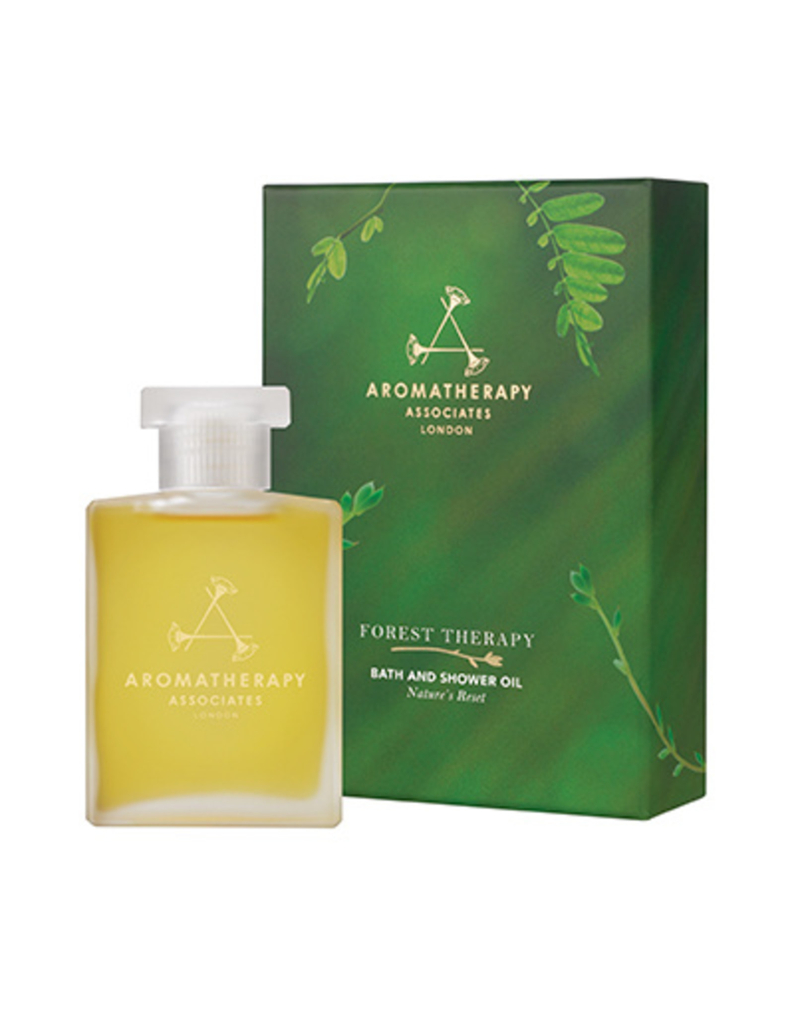 Aromatherapy Forest Therapy Bath and Shower Oil, 55ml