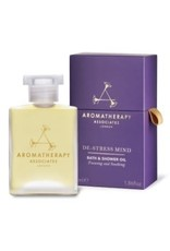 Aromatherapy De-Stress Mind Bath and Shower Oil, 55ml