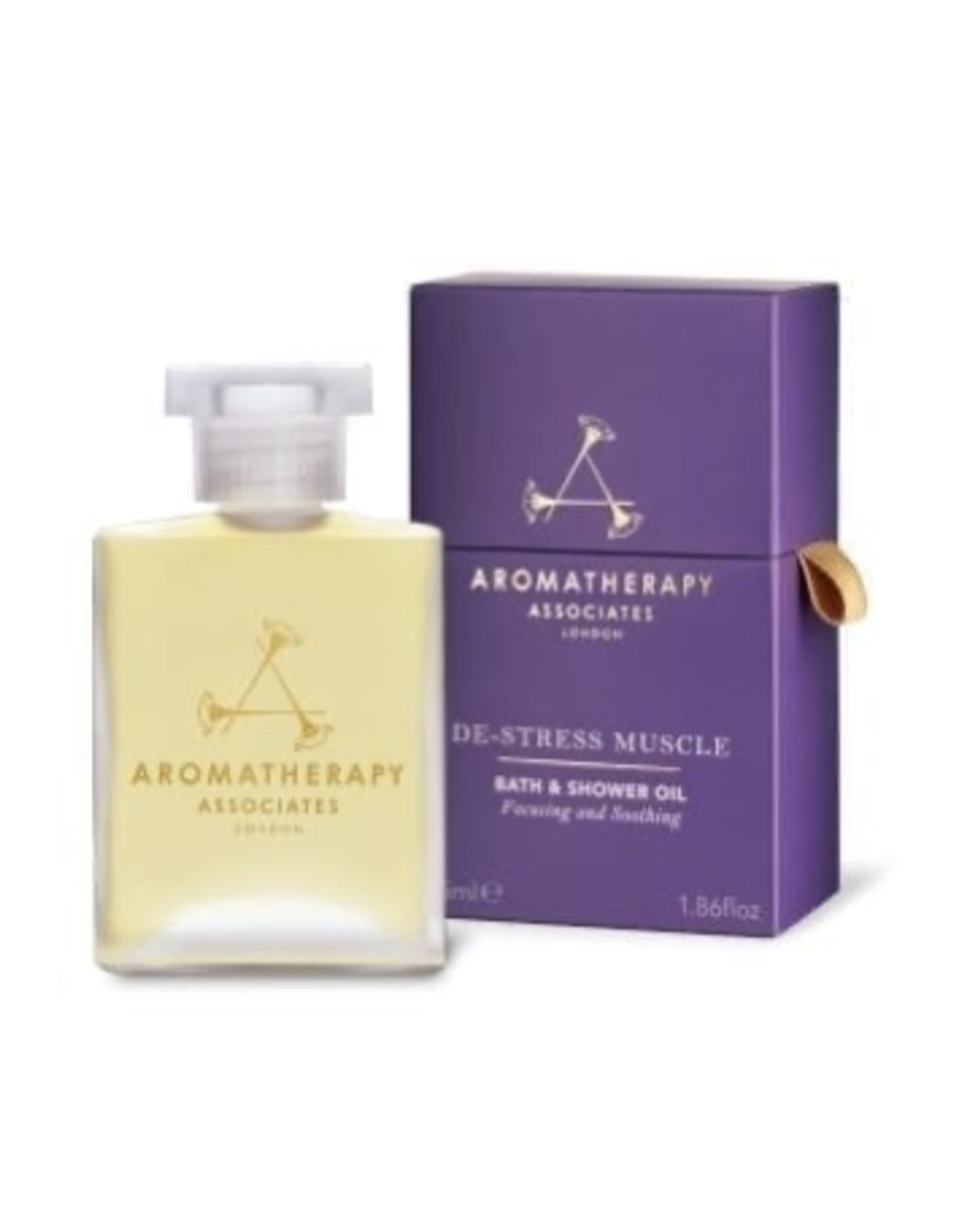 Aromatherapy De-Sress Muscle Bath and Shower Oil, 55ml