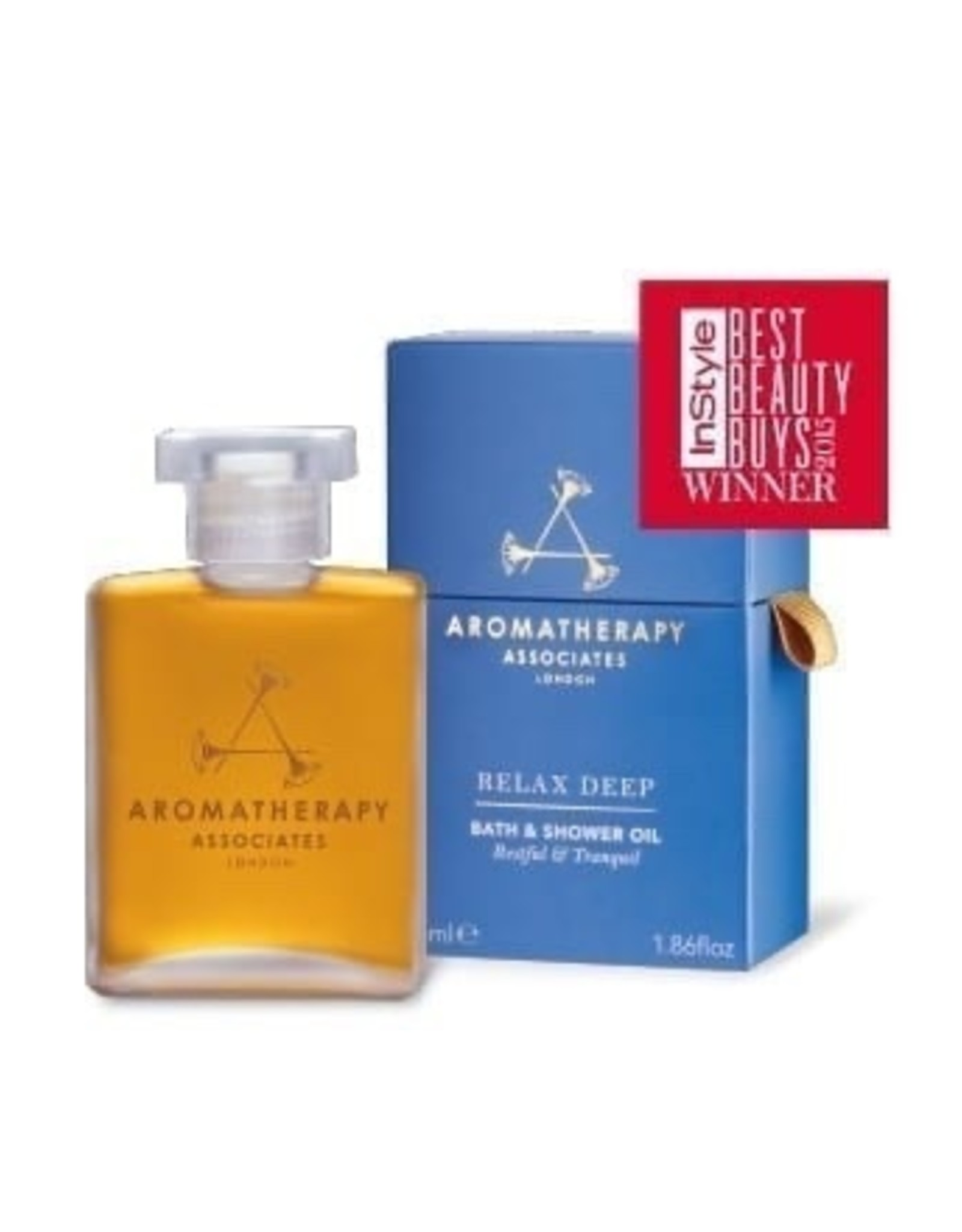 Aromatherapy Deep Relax Bath and Shower Oil, 55ml
