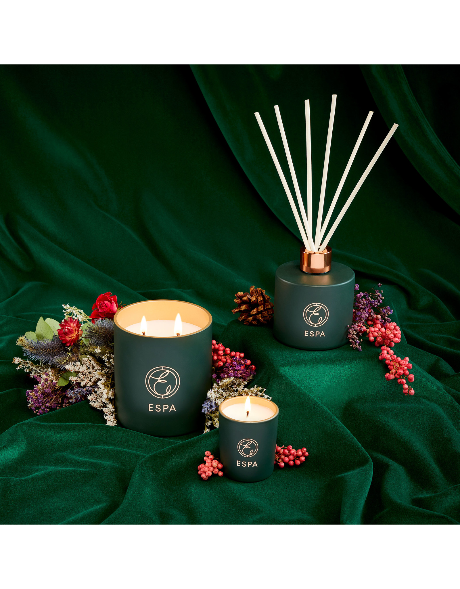 ESPA Winter Spice Deluxe Candle, 410g